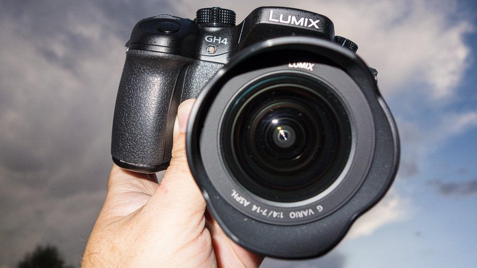 Panasonic GH4 … 4k video recording camera