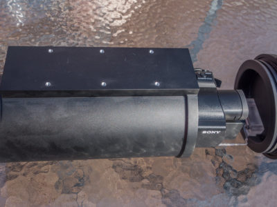 Underwater housing for Sony fdr-ax700, hxr-nx80 and pxw-z90